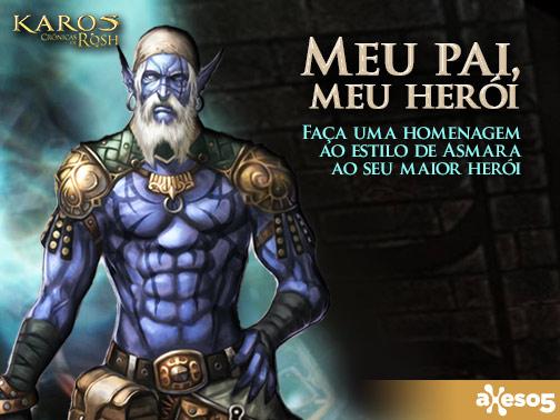 Meu pai, meu herói em Karos Crônicas de Rosh | Noticias y