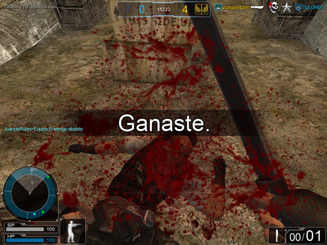 Captura de pantalla de operation7, el juego de tiros con más usuarios de latinoamérica