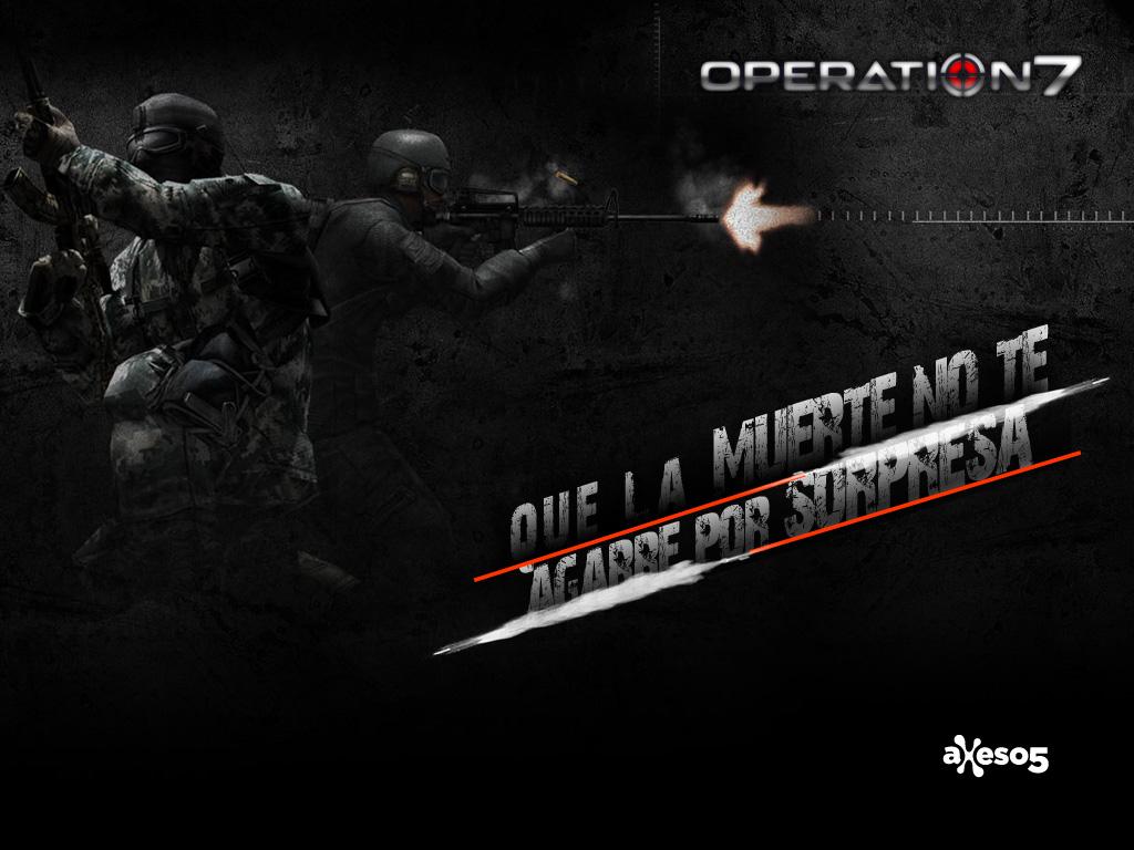 Fondo de Escritorio de operation7, el juego de tiros con más usuarios de latinoamérica